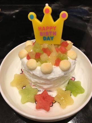 赤ちゃん用ケーキ